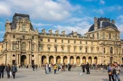 france louvre Paris zdjęcia royalty free