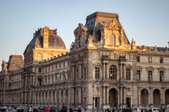 france louvre Paris zdjęcia stock