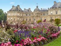 France Luxembourg du jardin Paryża Zdjęcia Stock