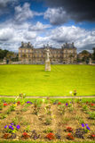 France. Luxembourg Gardens Stock Photo
