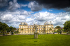 France. Luxembourg Gardens Royalty Free Stock Photo