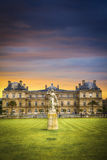 France. Luxembourg Gardens Royalty Free Stock Photos