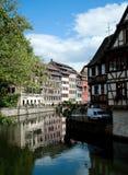 france mały Strasbourg zdjęcia royalty free
