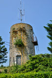 France, Malfourat windmill in Monbazillac Stock Photography