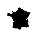 France map geography icon. Illustration design Stock Photography