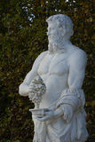 France, marble statue in the Versailles Palace park Stock Photography