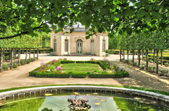 France, the Marie Antoinette estate in the parc of Versailles Pa Stock Images