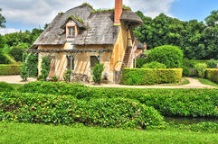 France, the Marie Antoinette estate in the parc of Versailles Pa Royalty Free Stock Images