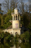 France, Marie Antoinette estate in the parc of Versailles Palace Royalty Free Stock Images