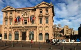 FRANCE, MARSEILLE -November 19, 2015: The city hall in Marseille Royalty Free Stock Photos