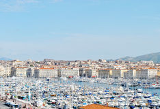 France Marseilles harbour Royalty Free Stock Images