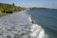France, Martinique, beach Stock Photo
