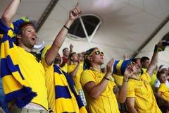 france match sweden Royaltyfri Bild