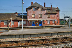 France,  Meru station in Oise Royalty Free Stock Photo