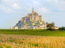 france michel montnormandy saint Royaltyfri Bild