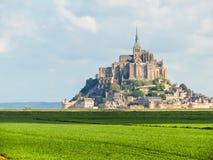 france michel montnormandy saint Arkivfoto