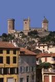 France midi pyrenees ariege foix. Chateau Royalty Free Stock Photo
