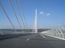 france millau viaduct Royaltyfria Bilder