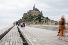 France mont saint michel royalty free stock images