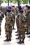 France, Montpellier, Victory in Europe Day parade Royalty Free Stock Photo