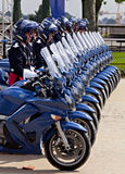 France, Montpellier - Victory in Europe Day parade Stock Image
