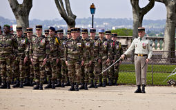 France, Montpellier - Victory in Europe Day parade Stock Photo