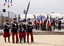 France, Montpellier - Victory in Europe Day parade Royalty Free Stock Photos