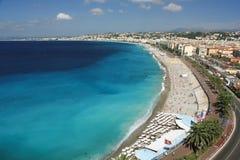 France, Nice, Côte d Azur. Promenade des Anglais Stock Photo