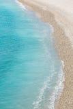 France Nice Mediterranean beach Royalty Free Stock Photography