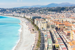 France Nice Mediterranean Stock Images