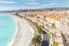 France Nice Mediterranean Stock Image