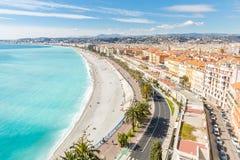 France Nice Mediterranean Royalty Free Stock Photos