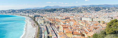 France Nice Mediterranean Royalty Free Stock Images