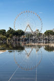 France nice miroir d'eau Royalty Free Stock Photos