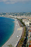 France, Nice, promenade anglais. Even if the name Promenade of the Anglais any more does not occur to any which was once in Nice right away, nevertheless, this Stock Image