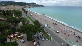 France Nice's super coastline Royalty Free Stock Images