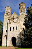 France, Normandie: Abbey of Jumieges royalty free stock images