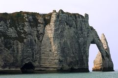 France, Normandie: Etretat  Stock Photo