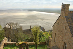 France. Normandy. Abbey of Mont Saint Michel Royalty Free Stock Images