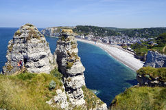 France, Normandy, Etretat Royalty Free Stock Photography