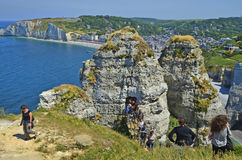 France, Normandy, Etretat Royalty Free Stock Images