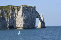 France, Normandy, Etretat Stock Photo