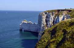 France, Normandy, Etretat Stock Images
