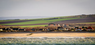 France, Northern coastline near Calais Royalty Free Stock Photos