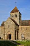 France, Notre Dame sur l'eau church in Domfront in Normandie. France, the Notre Dame sur l'eau church in Domfront in Normandie Stock Images