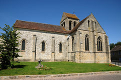 France, the old church of Seraincourt Royalty Free Stock Images