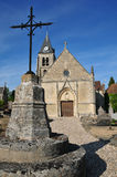 France, the old church of Villers en Arthies Royalty Free Stock Photography