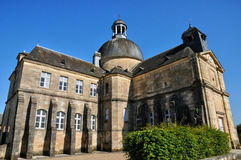 France, old hospital of Hautefort Royalty Free Stock Photos
