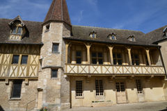 France, old and picturesque city of Beaune Royalty Free Stock Photography