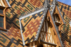 France, old and picturesque city of Beaune Stock Photography